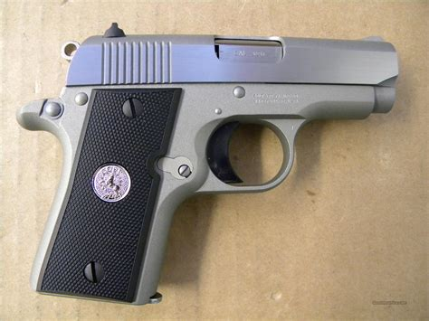 Mustang 380 Auto by Colt Mustang Pocketlite Stainless 380 Acp Auto For Sale