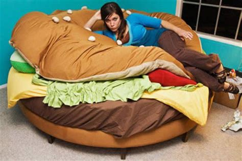 hamburger bed for sale cool beds 15 creative beds oddee