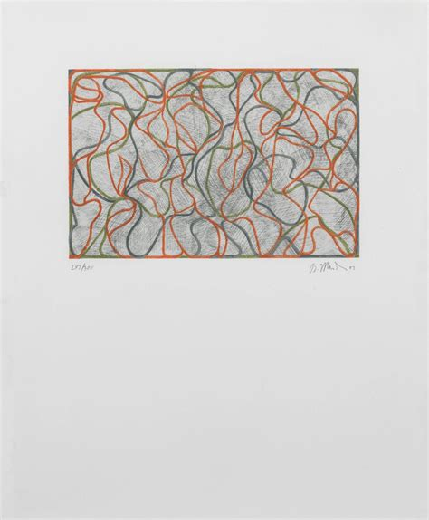 brice marden distant muses for sale at 1stdibs