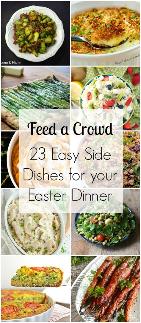 menu for a crowd 23 easy side dishes for your easter dinner feed a crowd