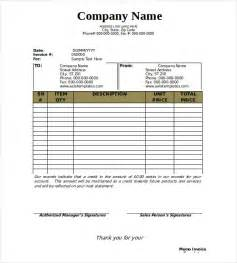 Memo Bill Template 6 Tips In Filling Blank Invoice Template With Ways To Craft It Best