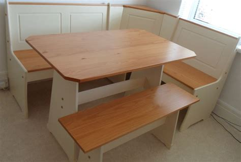 corner kitchen table and bench set dining room or kitchen haversham nook corner bench set