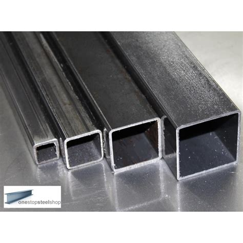 square section steel mild steel box section 80mm x 80mm x 3mm