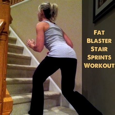 tuesday a fast blasting stair sprint
