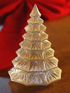 waterford christmas tree sculpture gold
