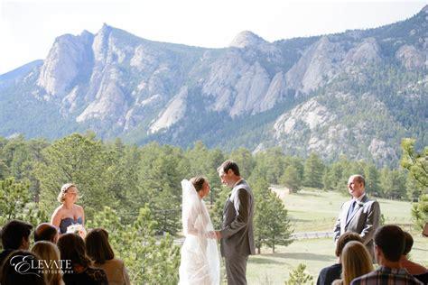 Wedding Ceremony Park by Estes Park Weddings Elevate Photography
