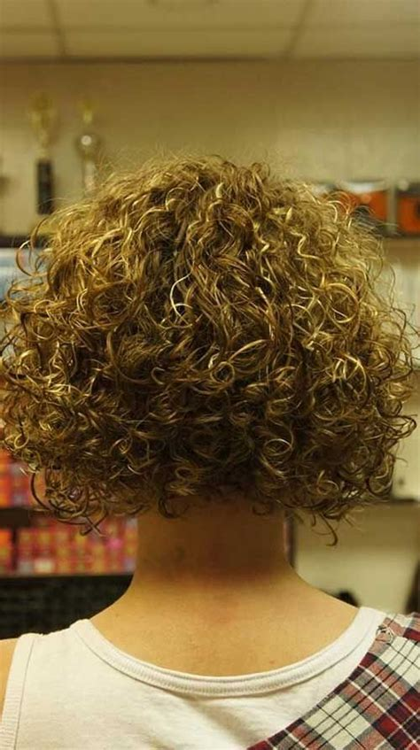stacked perm bob haircuts perm short hair back view hair pinterest perm curly