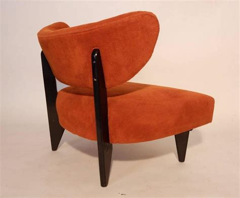 1950s mid century modern lounge chairs in the style of