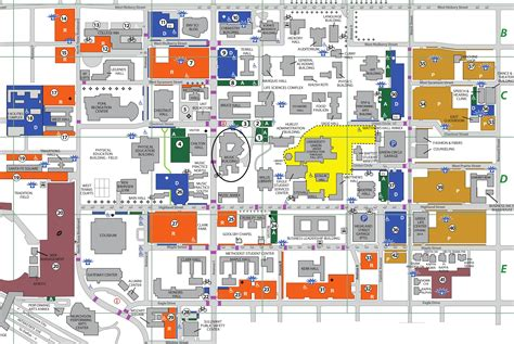 map texas state university map of unt laminatoff