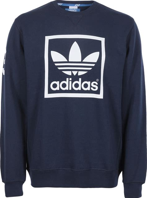 Sweater Adidas Adidas 3foil Crew Sweater Blue
