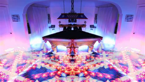 Its A Light Show For Any Room The Mood Light Classic Panel by Psychedelic Laser Light Show Around Billiards Table Arcade