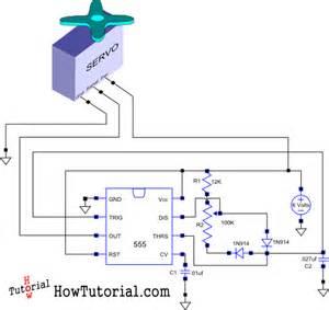 how do you build a simple circuit to a servo howtutorial