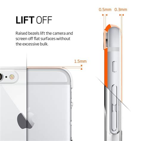 Softcase Ultra Thin Slim Color Space Soft Casing Iphone 7 7s buy iphone 6s 6 casing by spigen thin fit iphone 6s plus