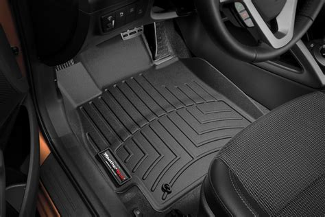 weathertech 174 443421 digitalfit molded floor liners 1st row black