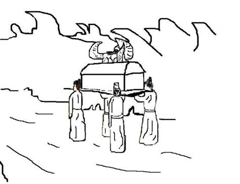 coloring page crossing the jordan river 97 best images about bible joshua on pinterest maze