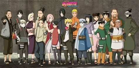 boruto list of characters boruto next generations mysteries and new characters