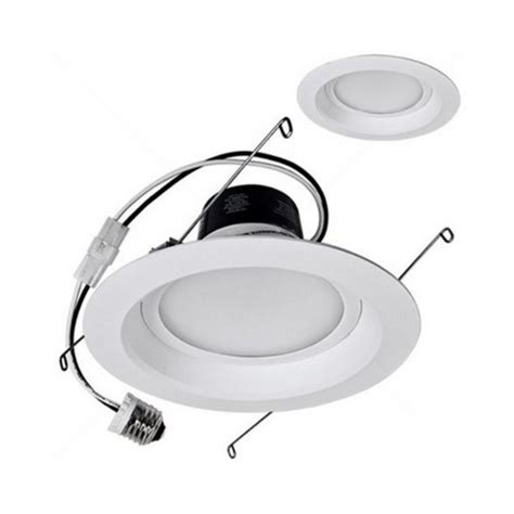 dimmable led retrofit 6 inch recessed trim 14 watts