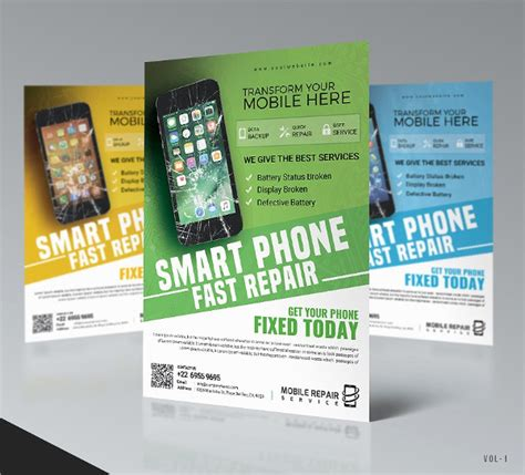 Cell Phone Repair Flyer Template 23 smartphone repair flyer templates free premium