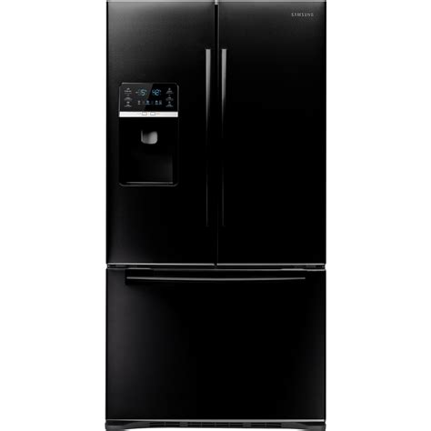 black samsung door refrigerator shop samsung 28 5 cu ft door refrigerator with dual