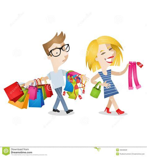 bid or buy shopping shopping bored stock vector