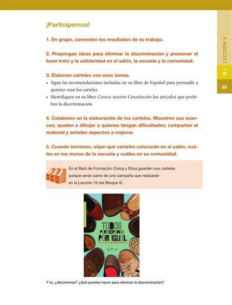 libro de formacion issuu sep libros de formacion civica 5 grado 2016 libro de