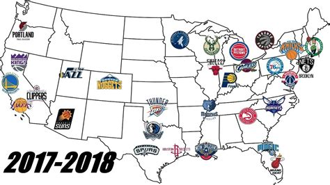 nba team map nba realignment changing the eastern and western conference