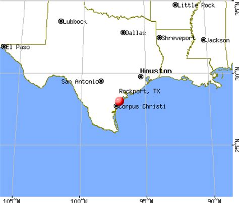 rockport texas map rockport texas