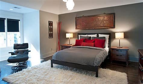 elegant grey bedrooms 10 refined red and gray bedroom design ideas https