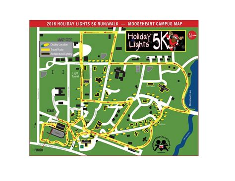 holiday in lights 5k holiday lights 5k event information moose charities