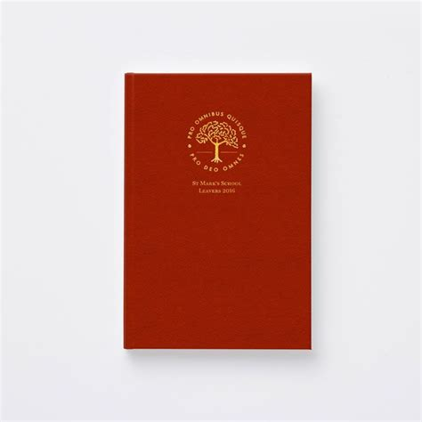gold yearbook themes classic style yearbook cover with red leatherette and gold