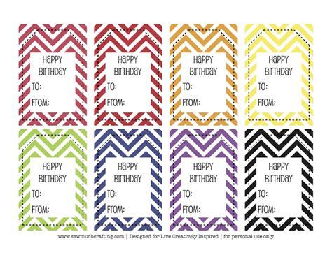 printable happy birthday name tags free printable happy birthday tags and cards paper crush