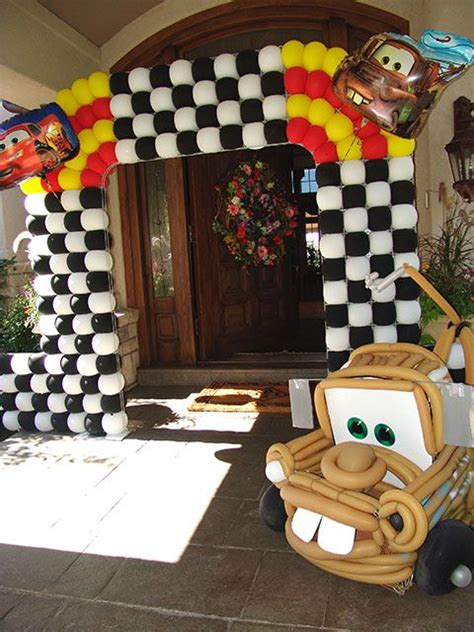 car themed birthday decorations 31 best images about balloon sculptures on