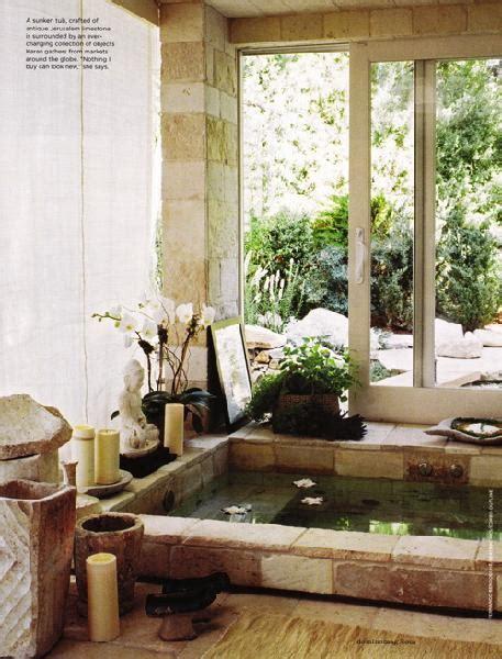 zen bathtub zen bathroom design ideas