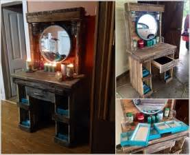 How To Make Makeup Vanity Table 10 Cool Diy Makeup Vanity Table Ideas