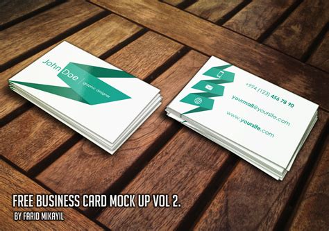 how to make a free business card 15 high quality free and premium business card mockup
