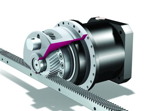 Rack And Pinion Design by New Concept Rack And Pinion Drive Design Solutions