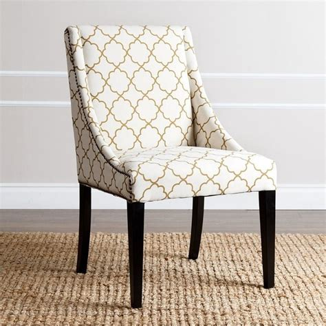 abbyson living teena nailhead upholstered dining chair in