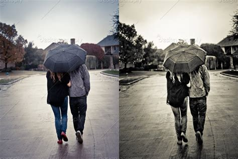 couple wallpaper with umbrella couple with umbrella walking in the rain design panoply