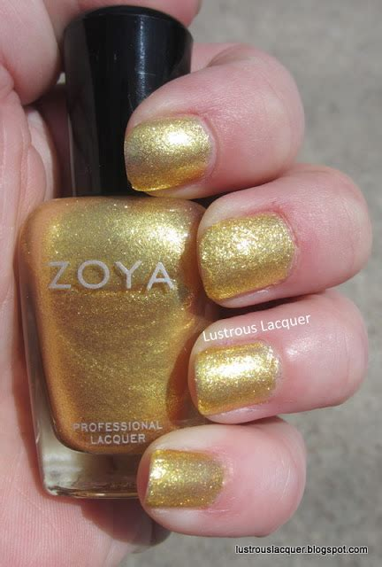 Zoya Tunik Aline Yellow 2 zoya summer collections 2013 lustrous lacquer