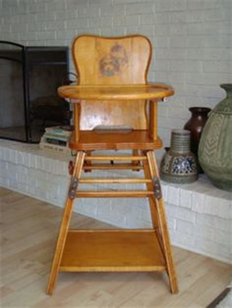 Vintage Convertible High Chair by Vintage Highchairs On High Chairs Dolls And