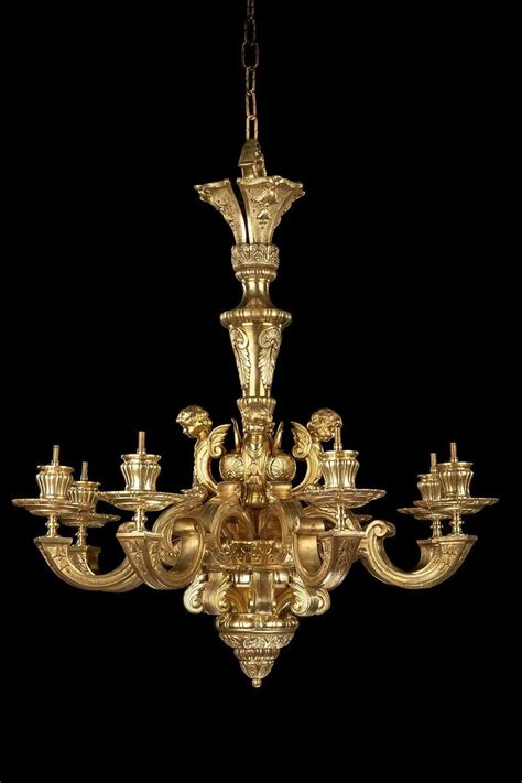 19th Century Chandelier Late 19th Century Gilt Bronze Chandelier For Sale At 1stdibs