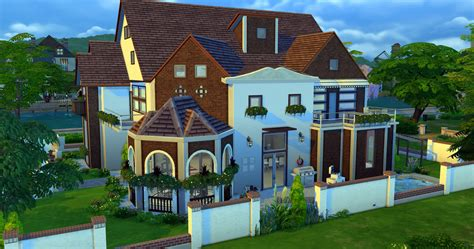 four house dream home palace sims 4 houses