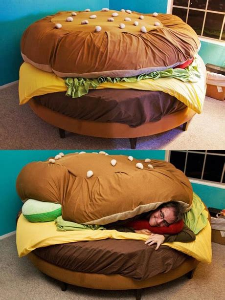 cheeseburger bed whatthecool 22 most coolest beds