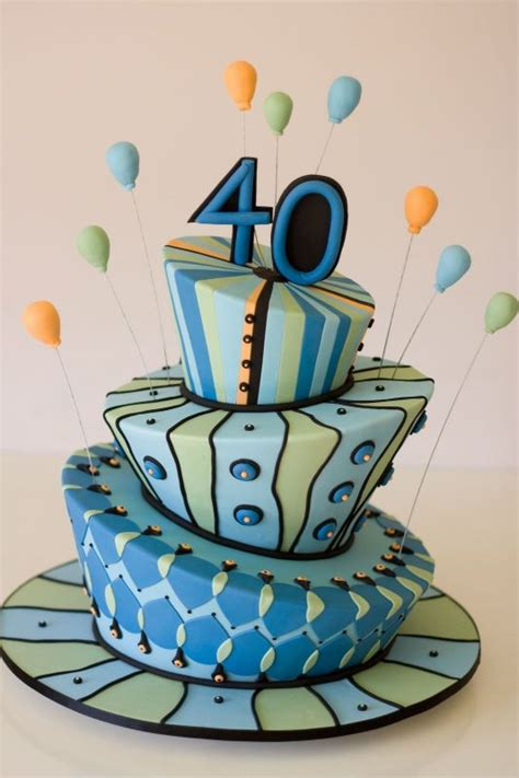 Guys Birthday Cake Decorating Ideas by 40th Birthday Cakes Happy Birthday Cake Images