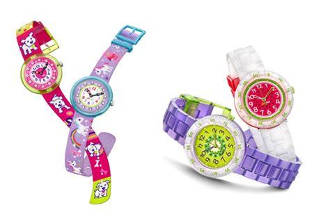 Jual Jam Tangan Swatch Flik Flak til trendy dengan jam tangan lucu untuk si kecil