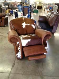 Cowhide Recliner Cowhide Recliner Furniture Amp Lighting Pinterest