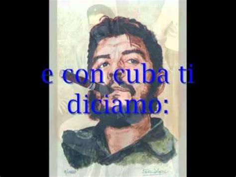hasta siempre comandante testo hasta siempre comandante canzone testo italiano wmv