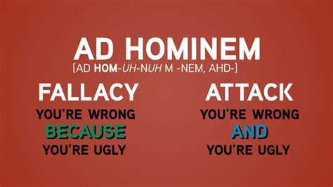 ad hominem fallacy a lesson for sea world skepchick