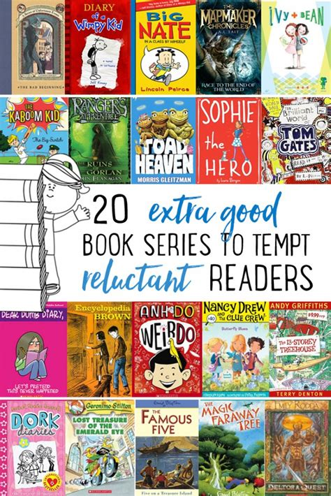 to really a books 20 really book series to tempt reluctant readers