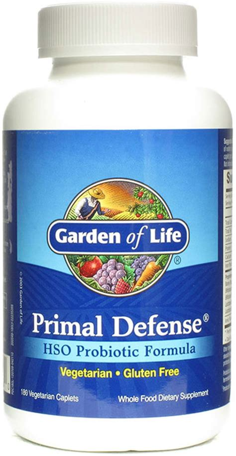 garden of primal defense 180 caplets